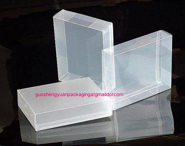 full color printing frosted pp box