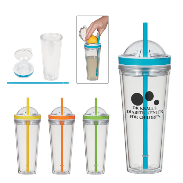 Juicer Tumbler With Straw