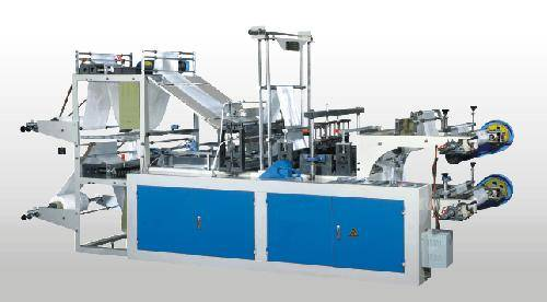 Computer Controlled High-speed Continuous-winding vest Bag making Machine