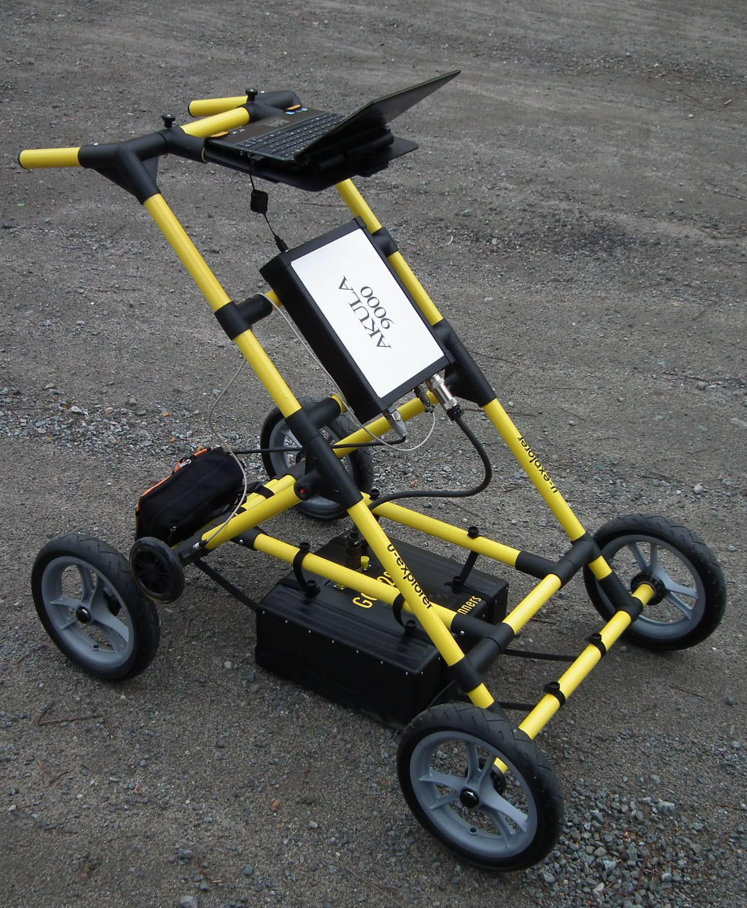 Geoscanners U-explorer Ground Penetrating Radar Manufacturer