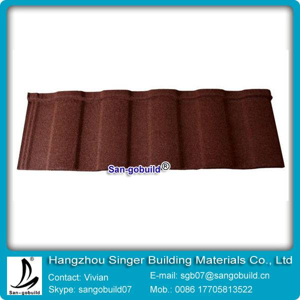Chinese supplier high quality colorful stone coated Metal roofing for reasonable price