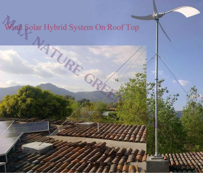 1kw horizontal wind turbine