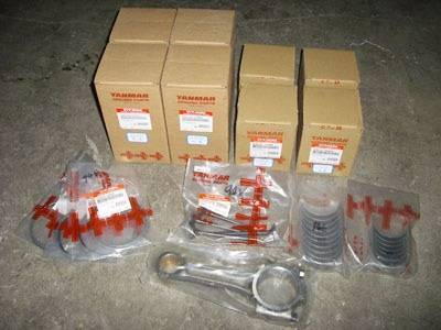 YANMAR 4D92E forklift engine parts