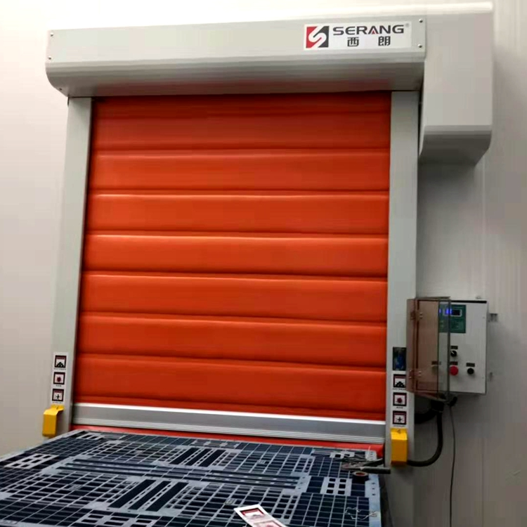 2020 Hot selling Zipper type thermal insulated high speed freezer door with good