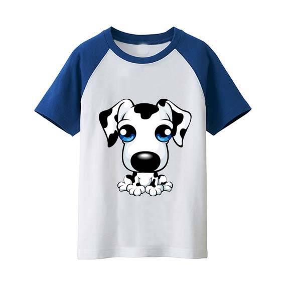 Boys round neck print t shirt clothing