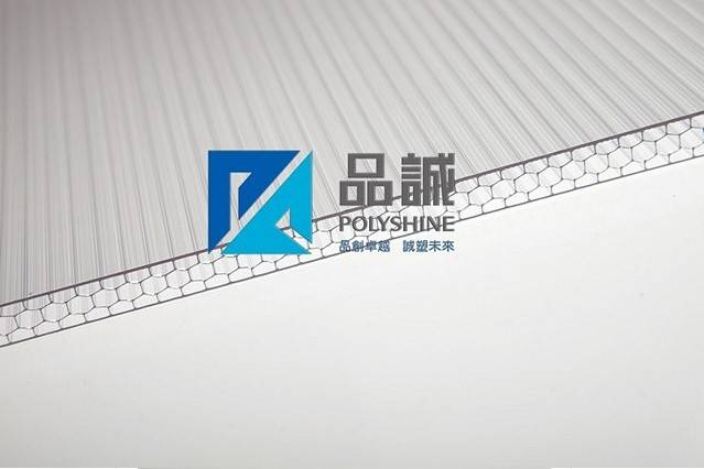 4-wall H-structure polycarbonate hollow sheet