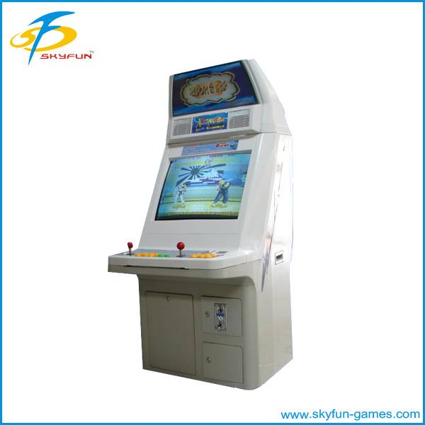 Fighting cabinet game machine