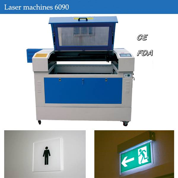 Acrylic signs Laser engraving machine