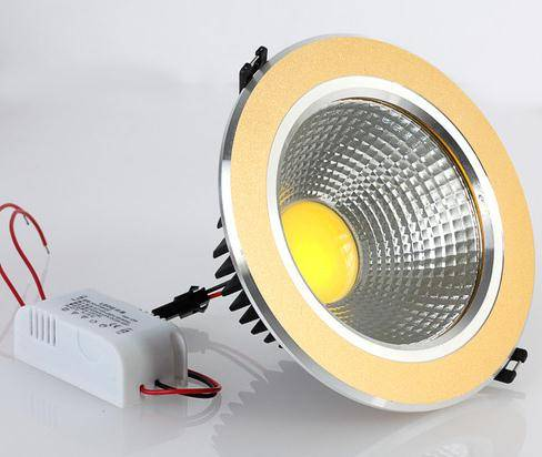 Sell led down lightings 5W/7W/9W/12W/21W COB LED Ceiling Recessed Down Light Lamp 85-265V with Drive