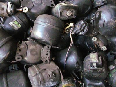 Fridge compressor scraps