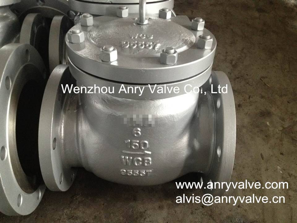 Casting steel check valve