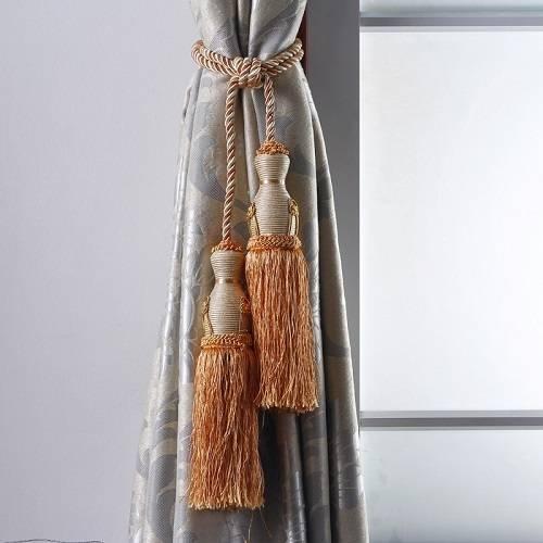 CH-00040 Curtain tassel tiebacks