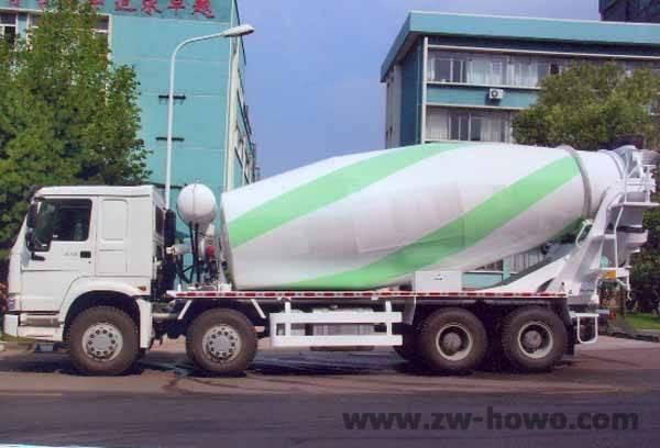 howo 8x4 mixer truck