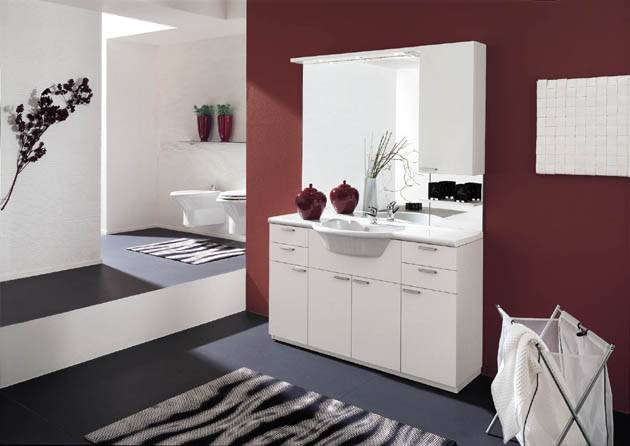 Wooded Bathroom Vanity, Bathroom Cabinet, Solid Wood Bathroom Cabinet,PVC Bathroom Vanity