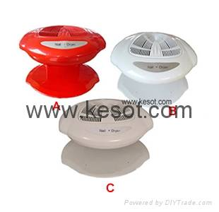 Hot and cold wind Nail polish Dryer with 400W fan system