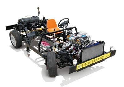 Whole Car Power Transmission System Operation Dissection Training Plat