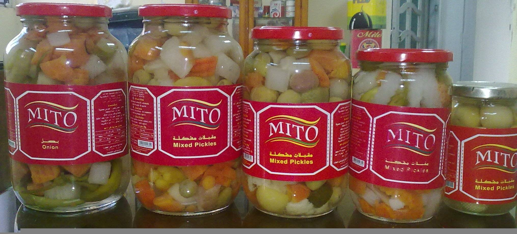 mixed pickles 6 types