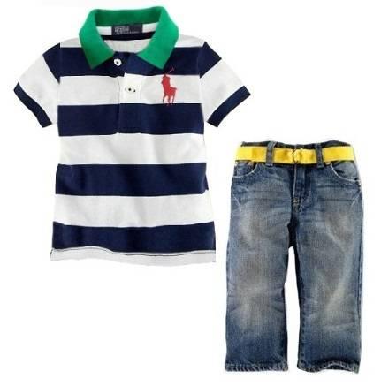 polo children boy suit
