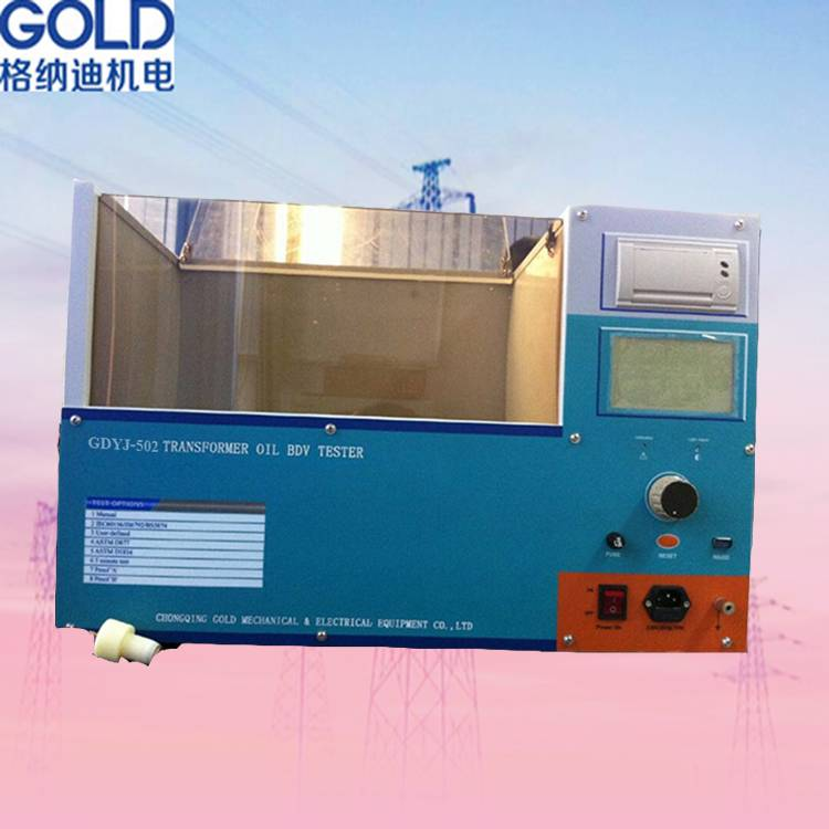 ASTM D1816 Dielectric Oil Dielectric Strength Tester