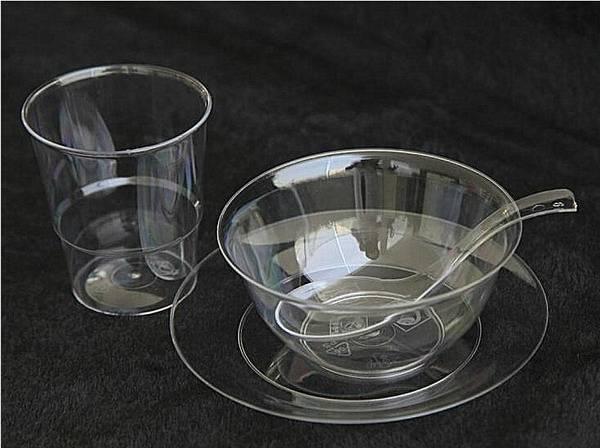 Plastic Crystal cups