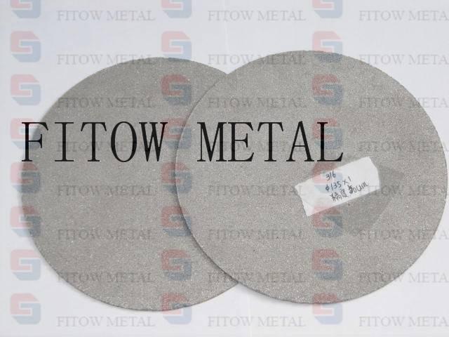 Sintered titanium powder water filter element porous titanium filters are designed for applications