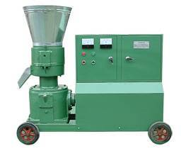 Pellet mill engined with electric motor, star-delta starting
