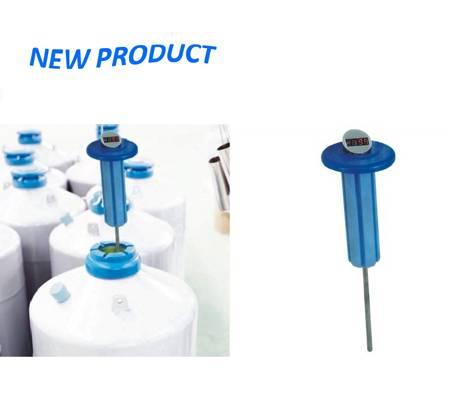 Intelligentized plug of liquid nitrogen container