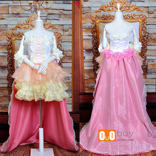 Selling The Super Dimension Fortress Macross Ranka Lee Poster Wedding Dress Lolita Cosplay Costume