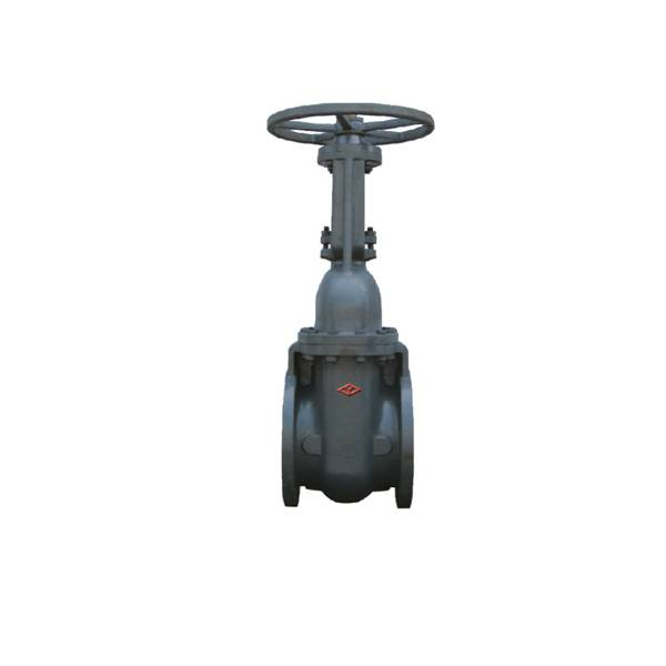 GOST Cast Iron Gate Valve (Z44T-10) with ISO9001