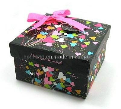New Design Paper Gift Box with Bowknot on Lid