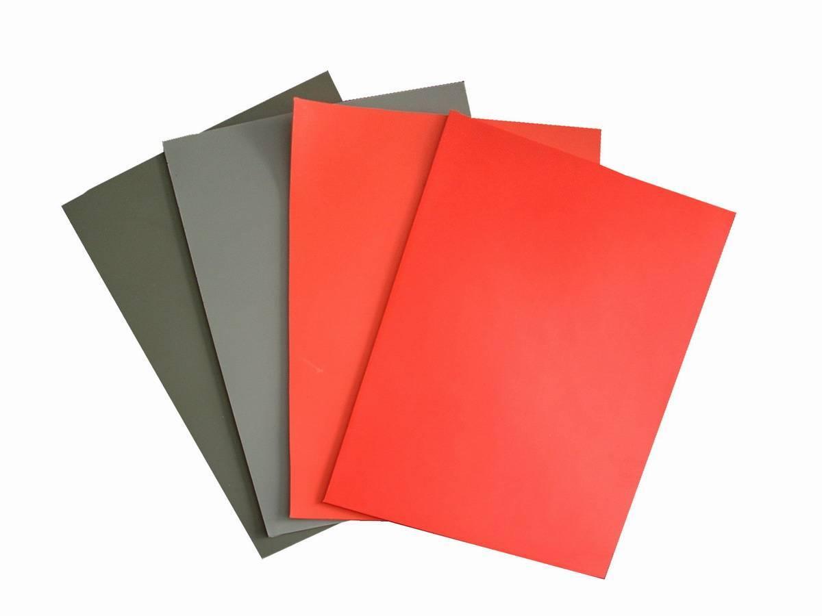 Grey rubber sheet