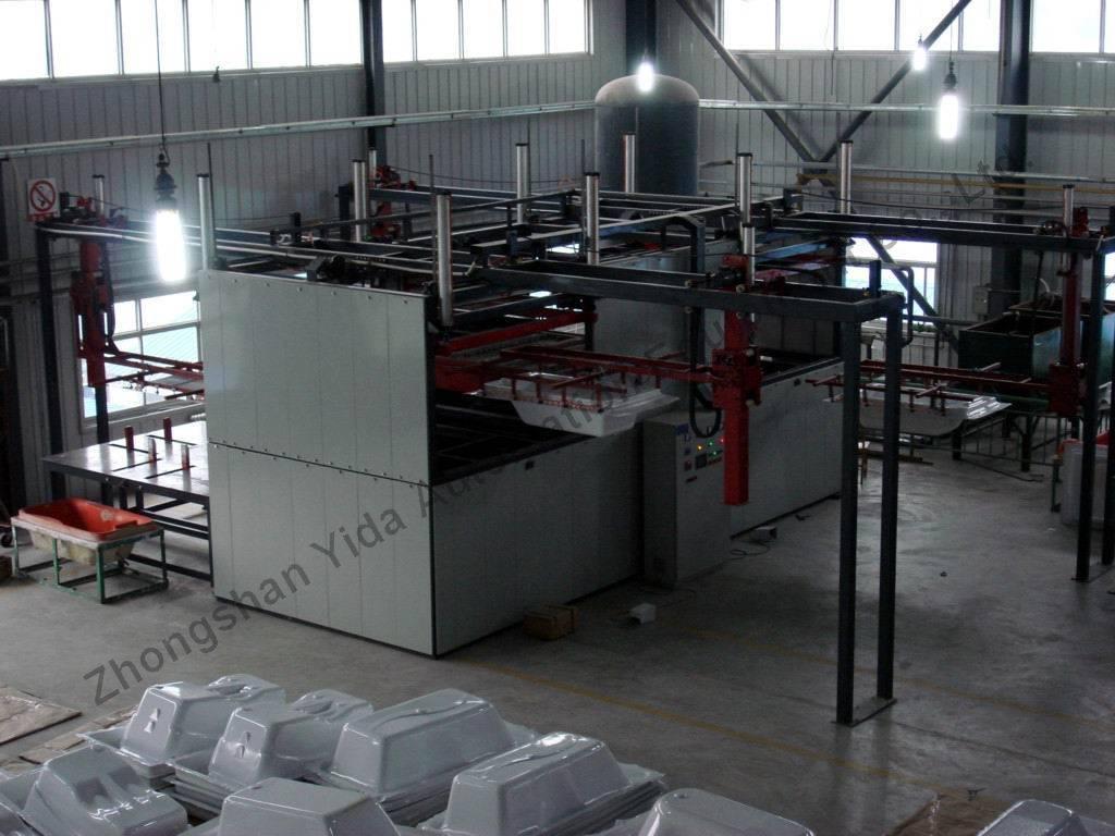 Acrylic Forming Machine/Bath Machine/Automatic molding furnace