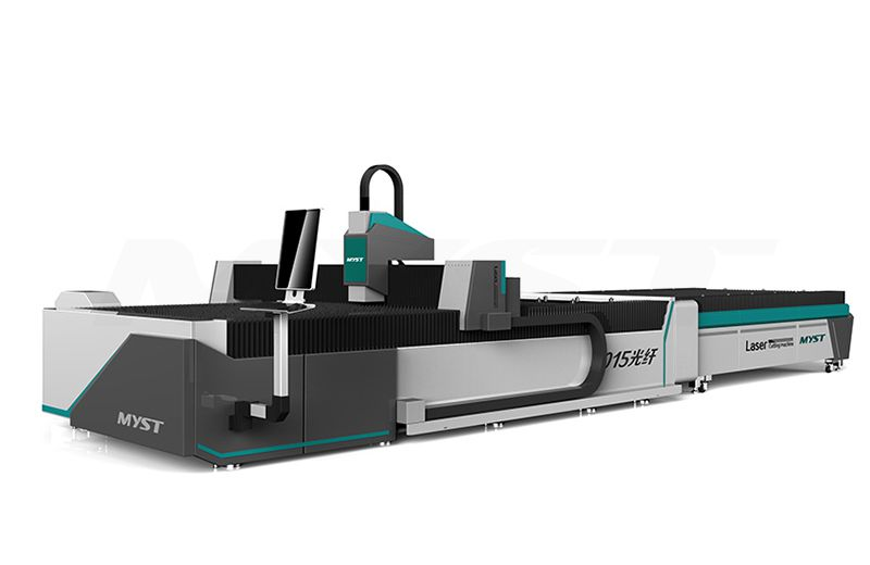Fiber Laser Cutting Machine With Rotary And Exchange Table MTF3015JR pipe laser cutting machine