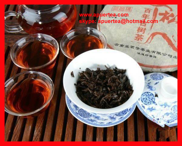 Free shipping wholesale organic puer tea paypal