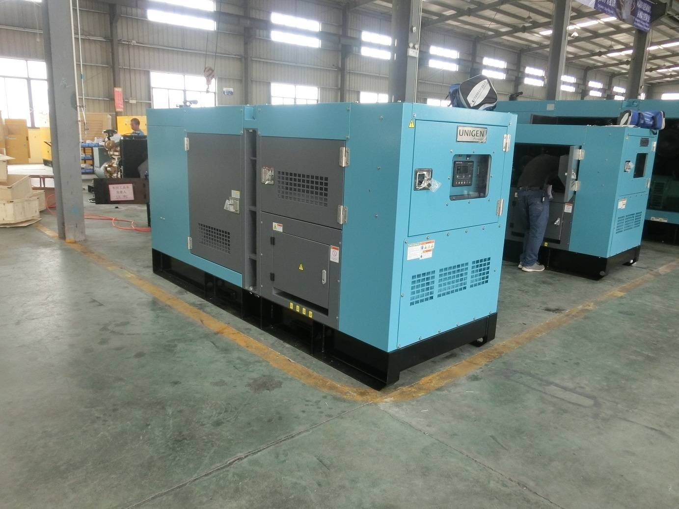 China Fawde Engine 30kw Portable Three Phase Generator