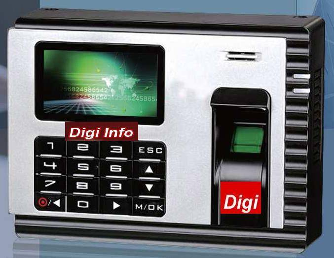 DIGI INFO-T5-USB & Workcode Biometric Time attendance,Dubai,UAE