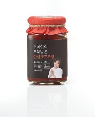 Panax schinseng NEES Hot Pepper Paste