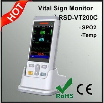 Spo2 Temp Patient Monitor Handheld Patient Monitor VT200C