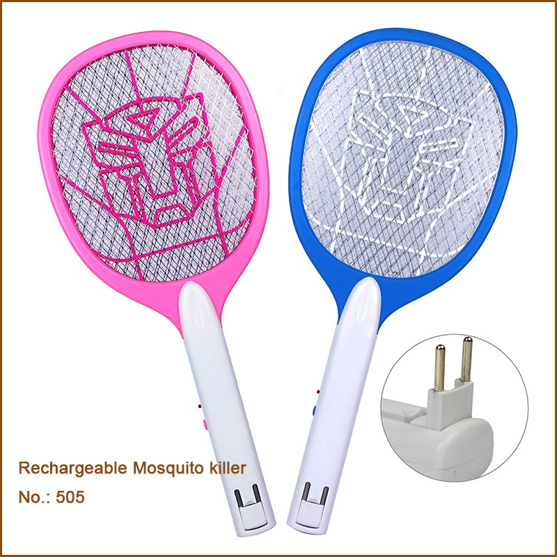 Rechargeable Electronic Plastic Mosquito Swatter