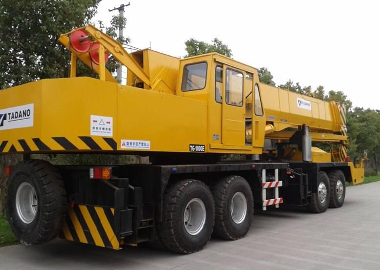 used truck crane TADANO TG-1000E ,TG250E KW30MXL,AR-1200M