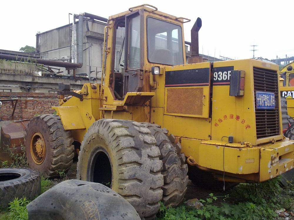 Used wheel loader CAT 936F, used caterpillar 936F loader for sale