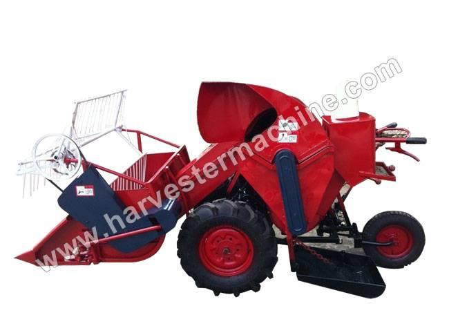Whirlston Walking Type Small Rice/Wheat Combine Harvester