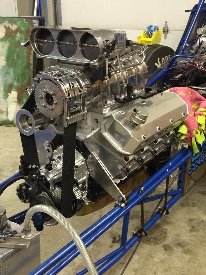 Bbc 632 Chevy Drag Race Top Notch
