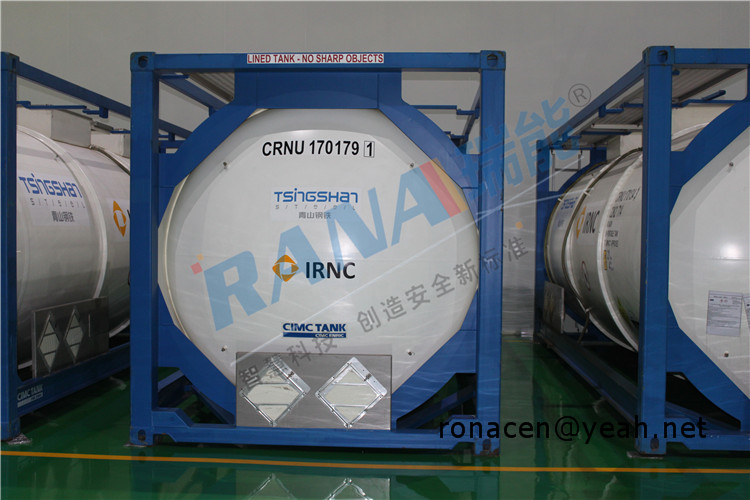 PTFE lined storage equipment anticorrosive tank
