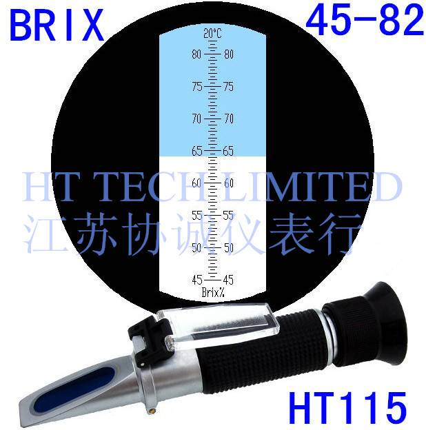 Refractometer Brix 45-82 for vegetable oil, glucose syrup and fruit jam