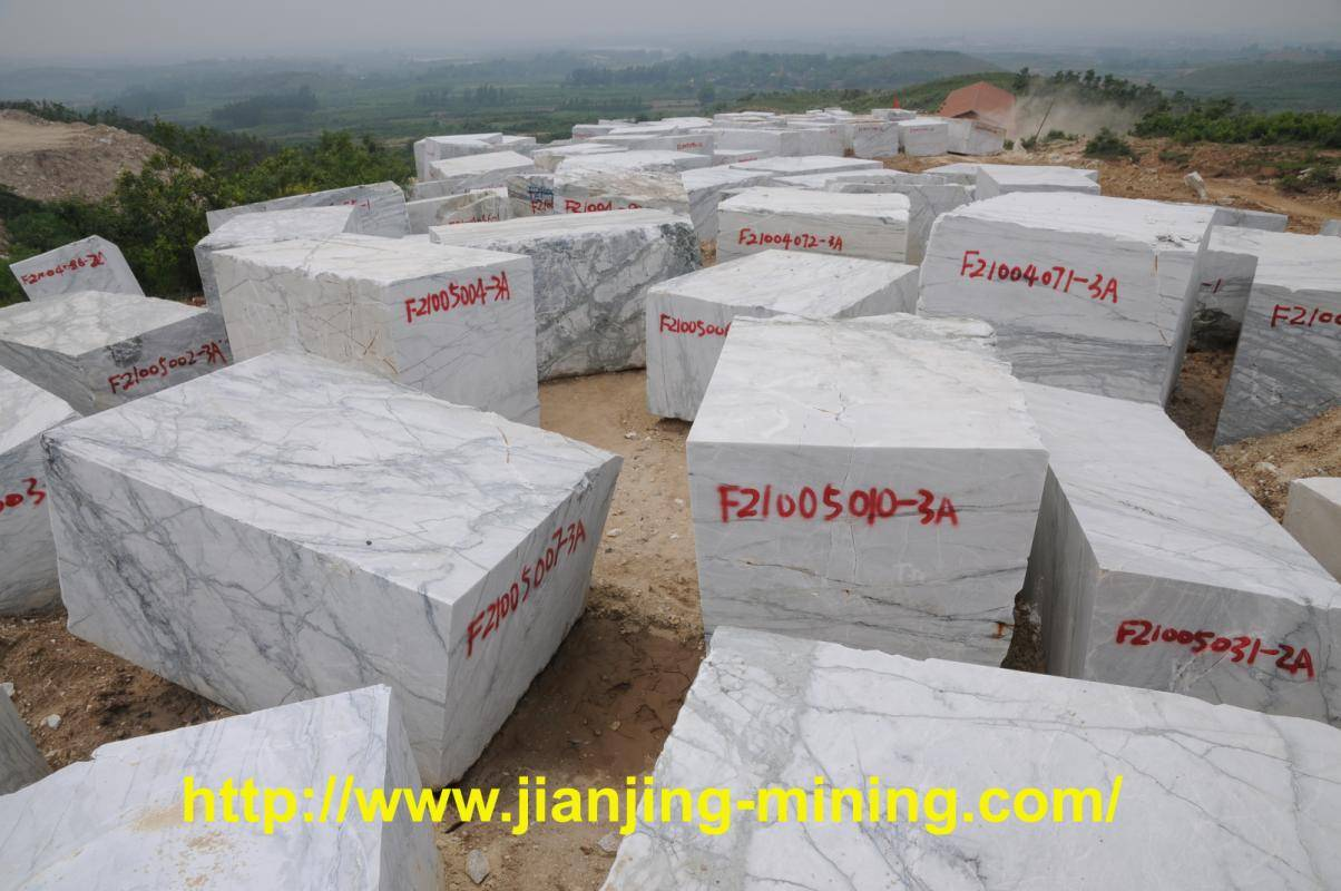 Chinese Quarry : Picasso White Stone Block