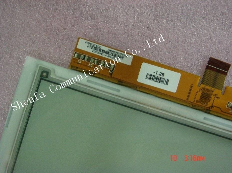 Whlesale New original ED060SC4 Eink LCD for Ebook reader (large sty in stock)