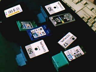 Colour Inkjet Cartridge