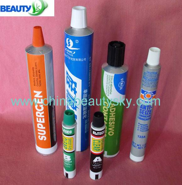 Empty Aluminum Collapsible tubes for Glues Adhensives
