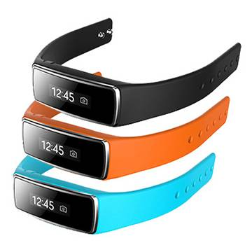 Latest bluetooth bracelet combine calling ID show and Vibration notice,healhty function together